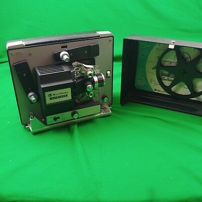 Bell & Howell Autoload Vintage 8MM Motion Picture Projector Model 461  Tested