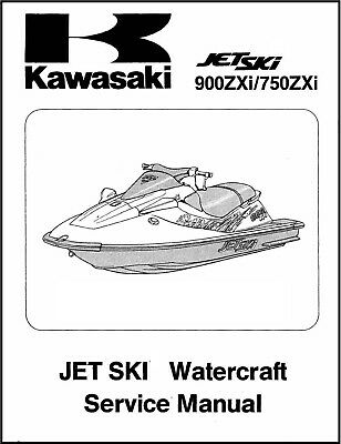 kawasaki jh750 1996 factory service repair manual