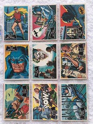 1989 Reissue Of 1966 Batman Cards   Cards Lot 53