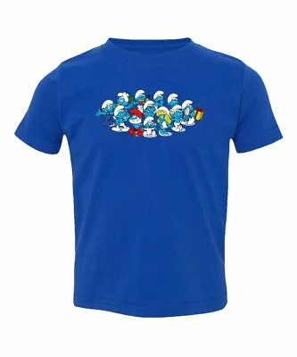 The Smurfs Baby Customized Kids Toddler T-Shirt