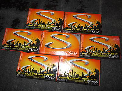 1 Sealed Case of 10 Collectable Packs Stride Gum Always Mandarin Discontinued