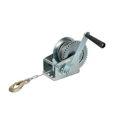 Ribimex Winch Manual 540KG Max 1080KG Rope Steel 10MT Winch Hauling