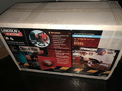Lincoln Welder K21188-1 Weld-Pak HD 115v SEALED NEW FREE SHIPPING