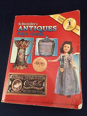 Schroeder's Antique Price Guide Twelfth Edition 1994 Selling & Buying Paperback*