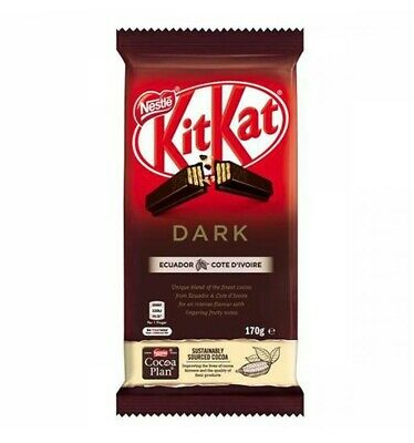 Nestle Dark Chocolate Kit Kat 170gm x 12