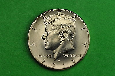 2015-D Choice BU Mint State Kennedy US Half Dollar Coin