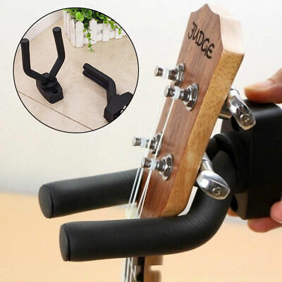 Guitar/Bass Instrument Hanger Hook Holder Wall Mount Display Bracket Stand Rack