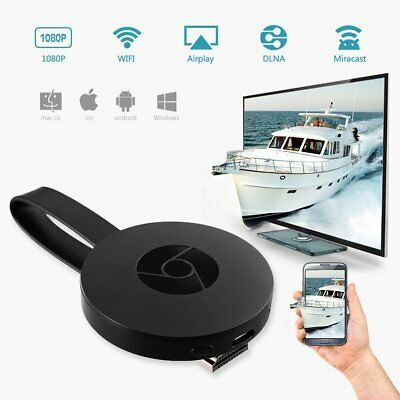 1080P Digital Dongle WIFI Wireless HDMI Screen Mirroring Adapter Streamer A9 UK