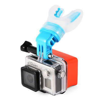 TELESIN Mouth Mount Tooth Holder Surfing Braces Floaty GoPro Hero 1/2/3/3+ OS585
