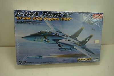Academy #12426 1/72 Plastic Model Kit U.S.Navy Fighter F-14A Tomcat Limited Ed.
