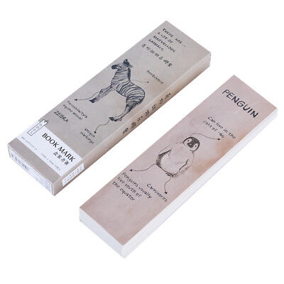 Wooden Color Bookmark Boxed Paper Bookmarks Boxed Card Stationery Bookmarks NB