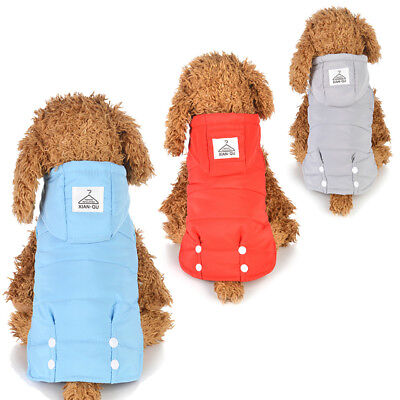 Eg_ Puppy Dog Sweater Cat Hoodie Clothes Winter Warm Pet Coat Jacket Apparel Tds