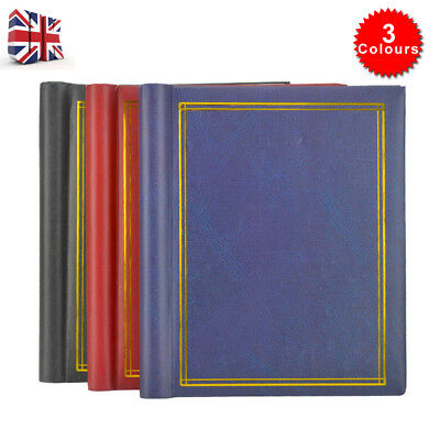 3pcs Self Adhesive Large Photo Albums Totalling 60 Sheets 120 Sides Tricolor