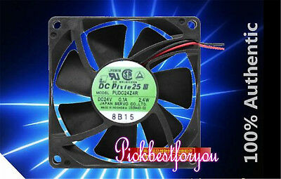 SERVO PUDC24Z4R Inverter cooling fan DC24V 2.4W 0.1A 80*80*25mm 3pin MC37 QL