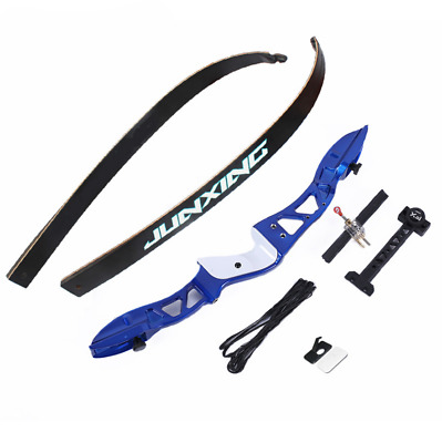 Archery Hunting Right Left Hand Takedown Recurve Bow Longbow High Strength Alloy