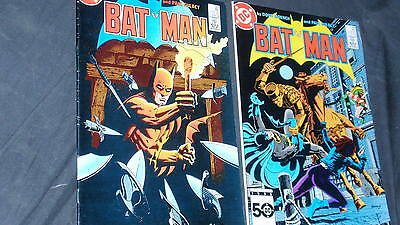 COMIC BATMAN Numbers 393-394 year 1986 -Classic EDITION AMERICAN -in Groin