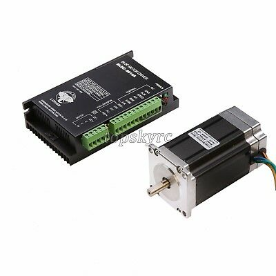 BLDC-8015A+57BLF03 Brushless DC Motor Nema23 188W 24V Router Milling DRIVER TOP