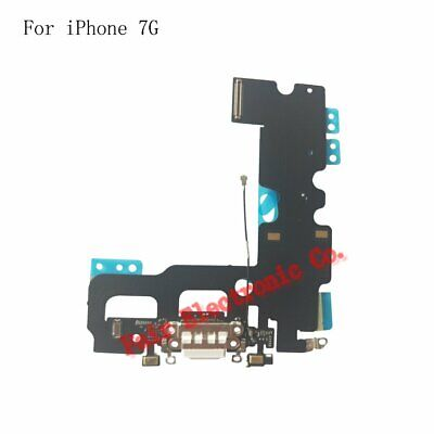 For iPhone 7 Charging Port - Replacement Charger Flex Cable USB Dock Mic - White