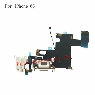 White iPhone 6 Charging Port - Replacement Charger Flex Cable USB Dock Mic