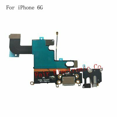 Black iPhone 6 Charging Port - Replacement Charger Flex Cable USB Dock Mic