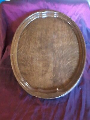 Oak tray / clean and tidy / vintage / retro