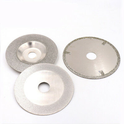 100 /110mm Diamond Cutting Disc Blade Glass Cut Off Wheel For Dremel Rotary Tool