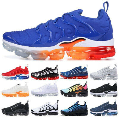Hot 2018 Mens Wmns Air Shock absorption Vapormax Plus Max Running Shoes Sneakers