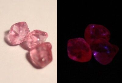AAA Mahenge Hot Pink Spinel Rough 2.95ct Flawless Rare Fluorescent Pink Spinel