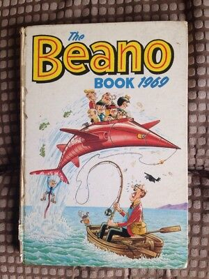 Beano Annual 1969 - Good - Poor Condition (BF44)