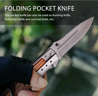 LotFancy Tac Force Emergency EMT EMS Rescue Handy Medical Pocket Knife