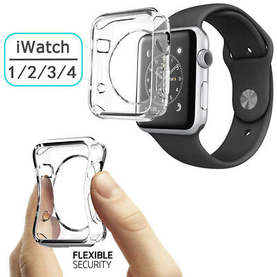 For Apple Watch 1/2/3/4 Case Cover Protector 38/42mm iWatch Full Protective Case