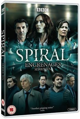 Spiral Complete Season 6 Dvd Region 2 New Free Uk Post Fast Delivery
