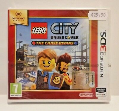 Lego City Undercover - The Chase Begins 3DS / 2DS - PAL - NUOVO - CLASSICS