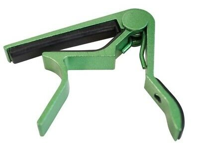Premium Quality Guitar Capo Quick Easy Change Release Trigger Clamp Green Colour