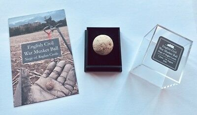 1646 1 x Charles I English Civil War Musket Ball from siege of Raglan Castle