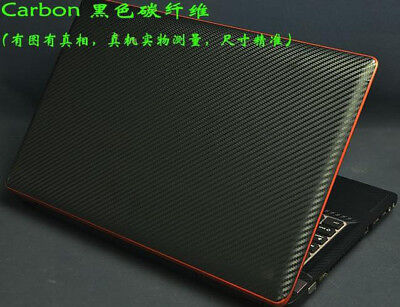 KH Laptop Carbon Leather Brushed Sticker Skin Cover for Lenovo IdeaPad 720S-14