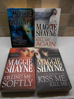 Lot Of 5 Maggie Shayne Books Twilight Prophecy Hunger Blue