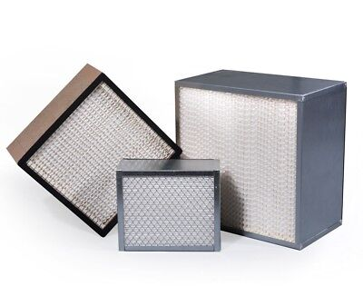 "H13 Hepa Filter 24x24x12, Deep Pleat Hepa 24""x24""x12"" 99.95% Hepa Filter"
