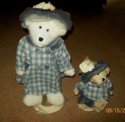 Two Boyds Best Dressed Limited Edition Bears: Mama Bearsworth & Mary Margaret