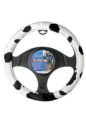Cow Black and White Design Steering Wheel Cover for steering wheels dia 37-39cm