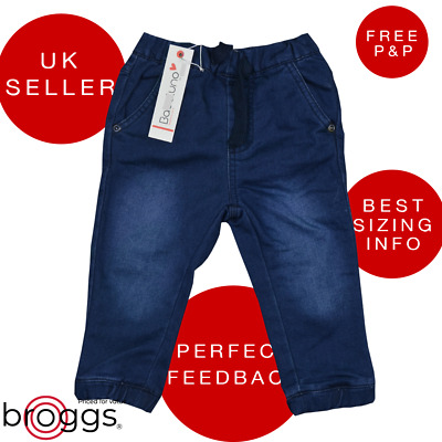 Baby Jeans Boys Denim Joggers Track Bottom Style Lovely