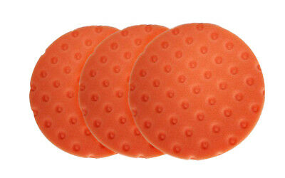5 PACK Lake Country CCS Red Foam Finishing Pad 3 inch 7812300-5