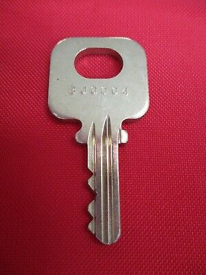 Medeco Payphone Upper Lock Key BJ0004 Pay Phone GTE Palco Quadrum Protel Elcotel
