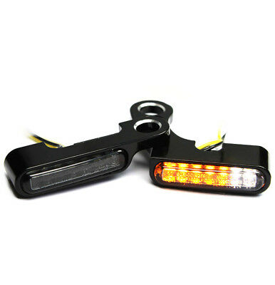 LED Blinker für HD Lenker Harley Sportster Forty Eight ab 2018  / IOMP / Typ 3