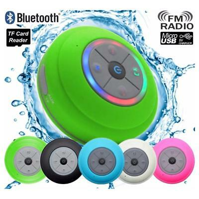 UK Portable Wireless Bluetooth Stereo Music Waterproof Speaker for Mobile Phone