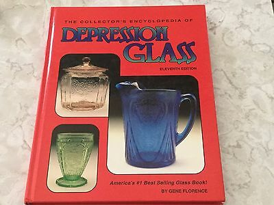 The Collector's Encyclopedia Of Depression Glass 11th Edition Gene Florence Book
