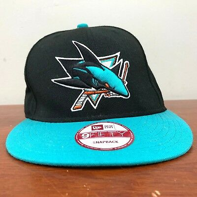 6646114a231 SAN JOSE SHARKS NHL New Era 9Fifty Snapback Cap Adjustable Hat ...