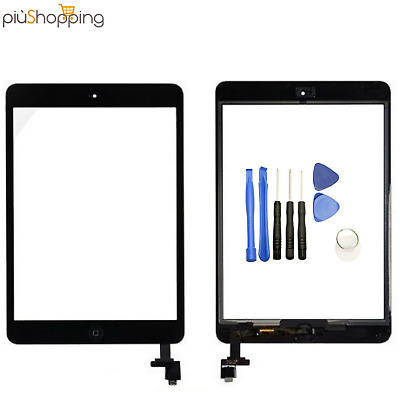 Touch Screen Apple Per Ipad Mini 1 2 A1432 A1454 A1455 Wifi 3G Vetro Nero