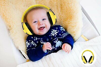 Ages 0-2 Baby Infant Ear Hearing Protection Toddlers Earmuffs Soft Comfortable