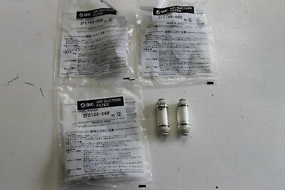 SMC ZFC100-06 Vacuum Filter With Fitting (lot of 5) NEW